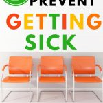 Food Safety Superhero Fighting Food-borne illness and food poisoning prevention -7ways to prevent sickness at the doctors office waiting room