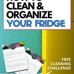 How to keep your food safe by deep cleaning your fridge