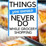 How to stop food poisoning while at the supermarket