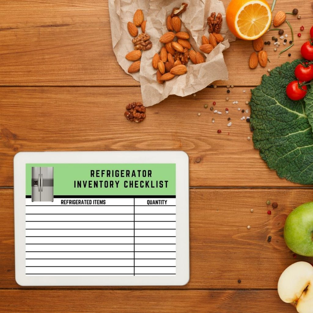 How to prevent food poisoning by using kitchen inventory lists