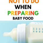 Food Safety Superhero Fighting Food-borne illness and food poisoning prevention -What not to do when preparing baby food