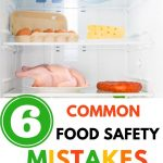 Food Safety Superhero Fighting Food-borne illness and food poisoning prevention -Food Safety Mistakes You're Making Right Now