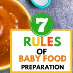 Food Safety Superhero Fighting Food-borne illness and food poisoning prevention - 7 rules of baby food preparation