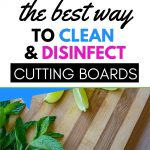 HOW TO CLEAN A PLASTIC CUTTING BOARD