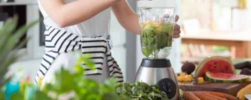Food Safety Superhero Fighting Food-borne illness and food poisoning prevention - How to sanitize a blender