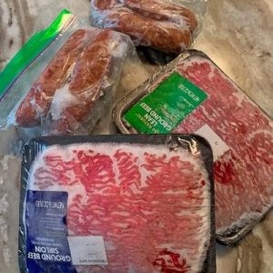 Food Safety Superhero Fighting Food-borne illness and food poisoning prevention - Defrosting meat quickly is not a safe option. By thawing meat fast, it allows bacteria to grow at a quicker rate.