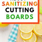 Food Safety Superhero Fighting Food-borne illness and food poisoning prevention -- The truth about sanitizing cutting boards