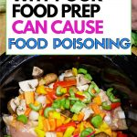 What are the 4 simple steps to prevent food poisoning