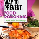 How to prevent food poisoning after eating spoiled food