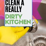 How to deep clean a kitchen to get rid of germs and bacteria