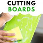 Food Safety Superhero Fighting Food-borne illness and food poisoning prevention - How to sanitize your cutting boards the right way