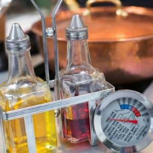 Food Safety Superhero Fighting Food-borne illness and food poisoning prevention - Learn the proper way to use a food thermometer to prevent giving you and your family food poisoning
