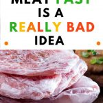 Food Safety Superhero Fighting Food-borne illness and food poisoning prevention - Why defrosting meat fast is a really bad idea