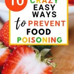 Food Safety Superhero Fighting Food-borne illness and food poisoning prevention - 10 crazy easy ways to prevent food poisoning