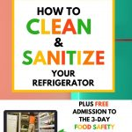 food safety superhero how to clean deep clean refrigerator quick