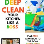 how to deep clean your kitchen fast