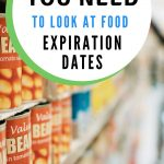 Food Safety - Why best by, sell by and use by dates are so important