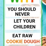 Food Safety Superhero Fighting Food-borne illness and food poisoning prevention - the dangers of eating raw cookie dough