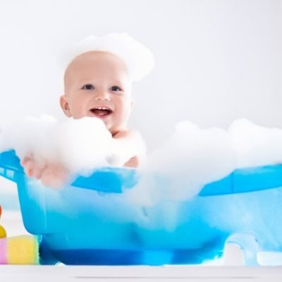 4 tips to clean baby poop in tub - Food Safety Superhero Fighting Foodborne illness and food poisoning prevention