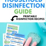 DIY recipes to disinfect your house after the flu