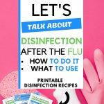 DIY household products and recipes to disinfect your home after the flu