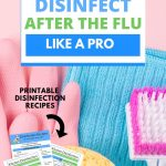 The best way to clean and disinfect your house after the flu