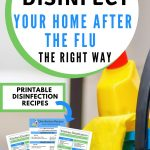 how to disinfect your house to protect from flu
