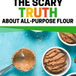 What all purpose flour means and how to make eggless cookie dough using raw flou