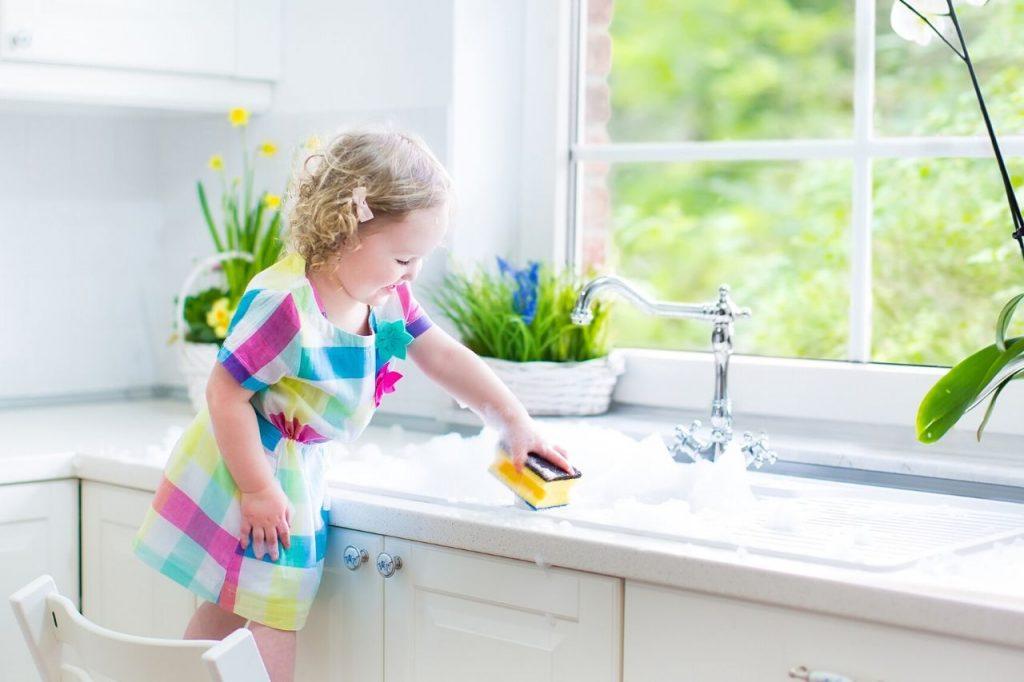 food safety superhero fighting foodborne illness and food poisoning prevention microwaving kitchen sponge