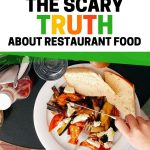 Food Safety Superhero Fighting Food-borne Illness and Food Poisoning Prevention. The scary truth about restaurants