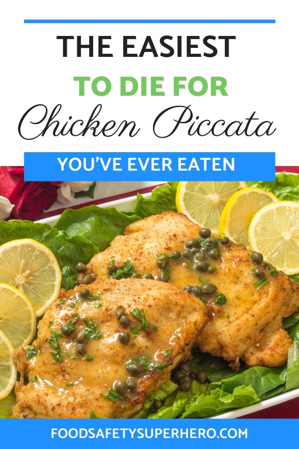 how to make the worlds best chicken piccata