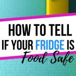 How to tell if your fridge is food safe how to clean and organize your fridge