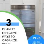 HOW TO ORGANIZE YOUR REFRIGERATOR WITH EASE