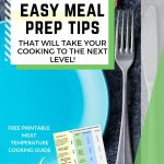 meal prep tips for food safety