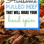 Mind Blowing Head Spinning Crockpot Pulled Beef Brisket
