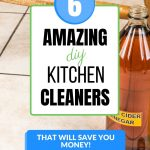 6 amazing diy kitchen cleaners that will save you money