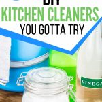6 of the easiest homemade kitchen cleaners