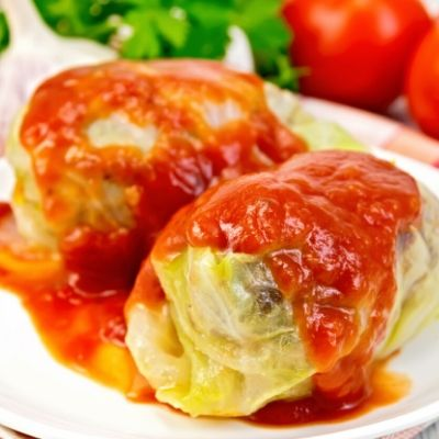 Easy stuffed cabbage roll recipe