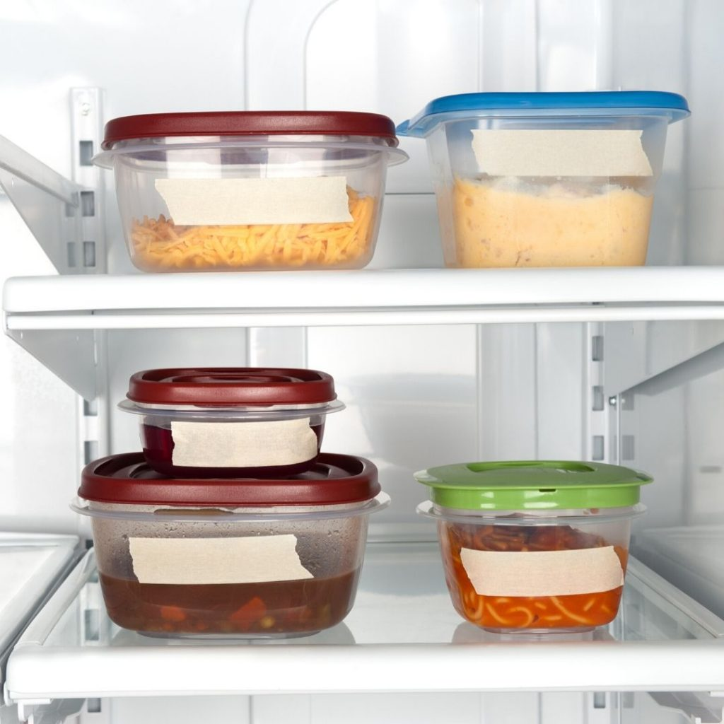 how to organize your refrigerator and how to store leftovers