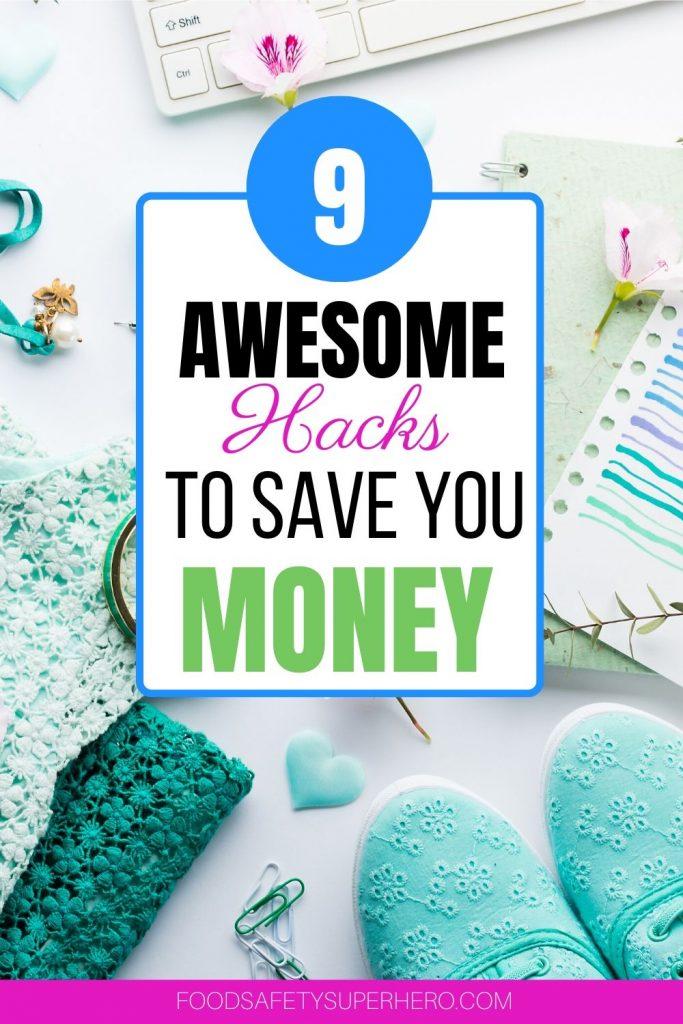 9 money saving life hacks