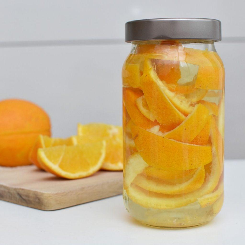 6 of the best kitchen cleaners diy orange vinegar