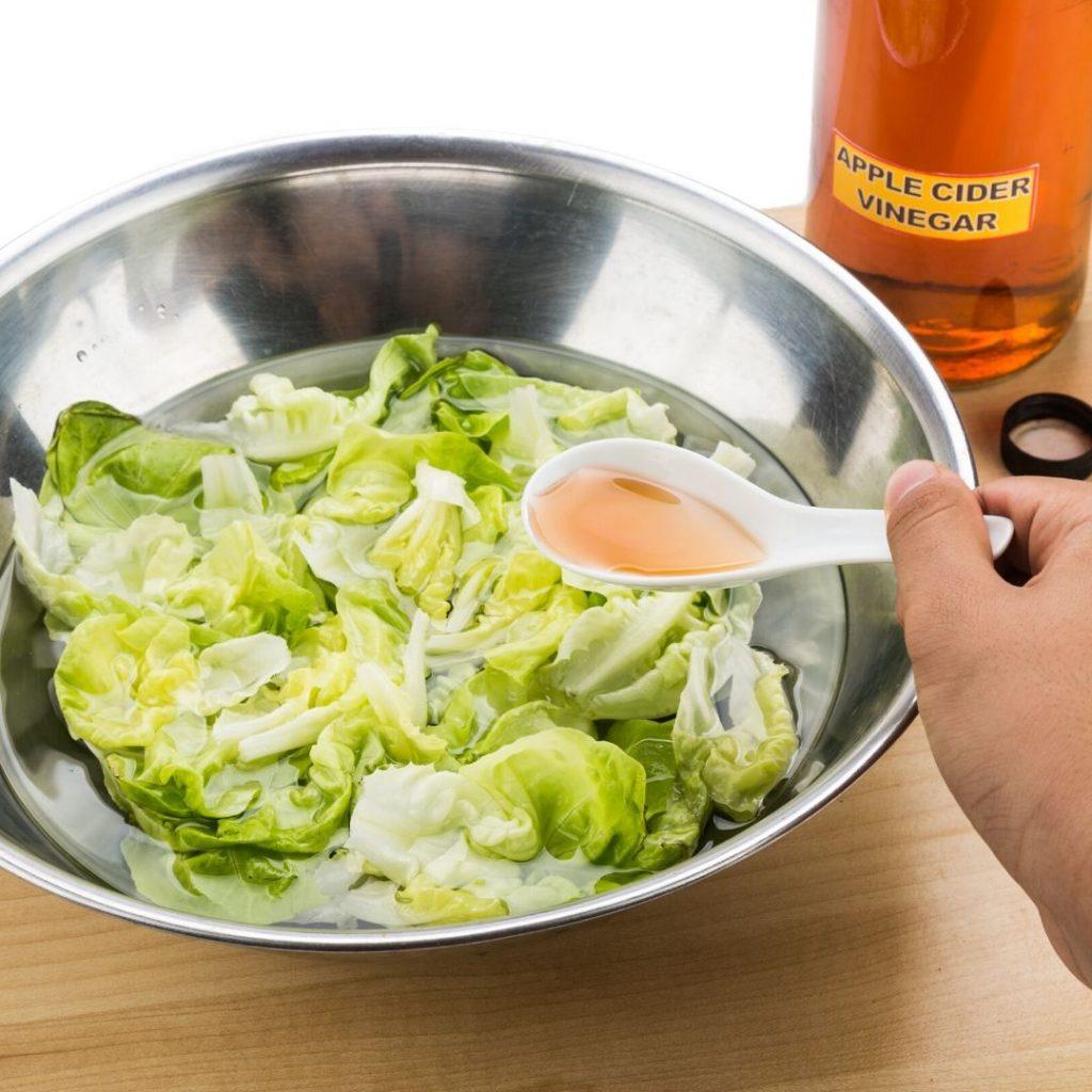 The best vinegar wash for vegetables