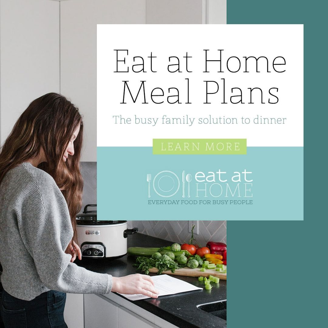 Eat at home meal plans - food safety superhero