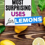 What can you use lemons to clean