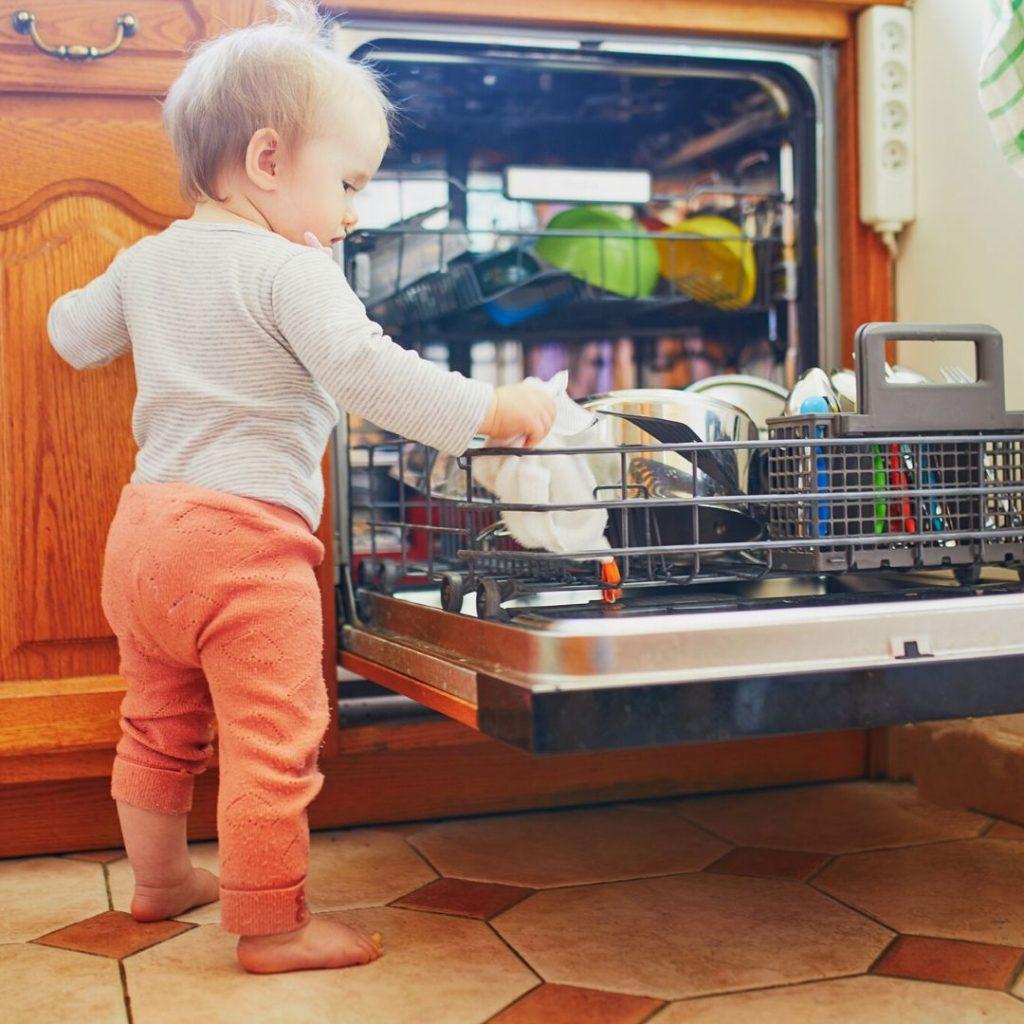 dishwasher safety and children