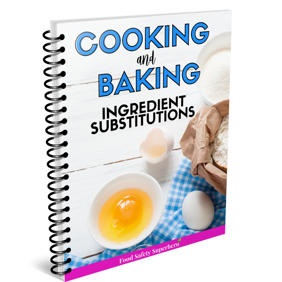 ingredient substitutions cooking baking