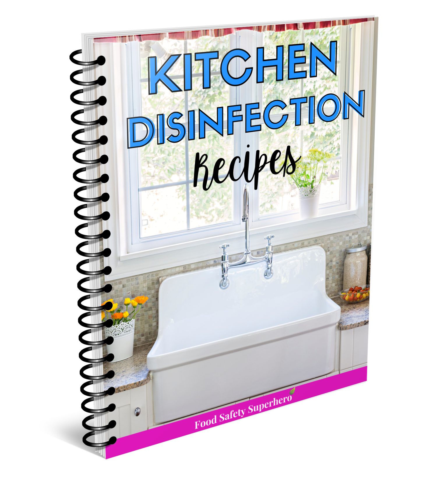 kitchen disinfection recipe book
