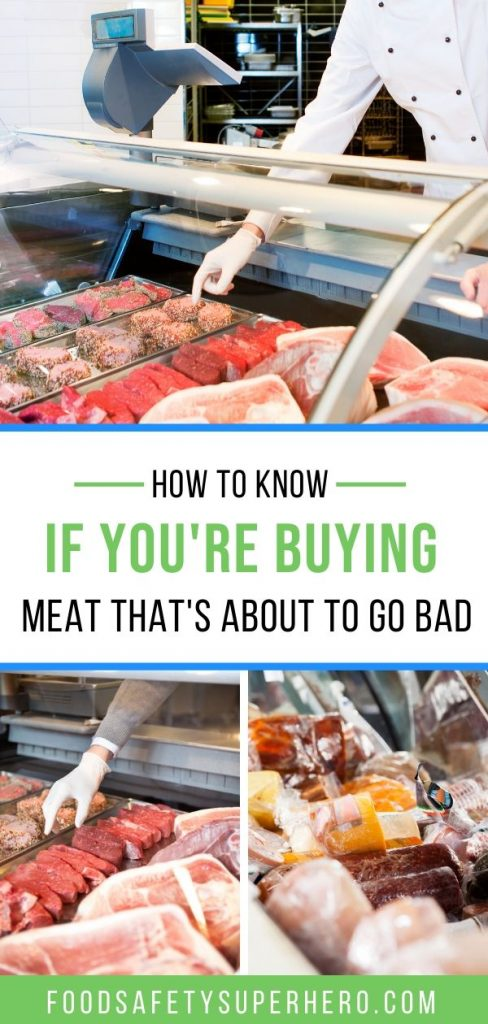 how do you know if the meat you bought is spoiled