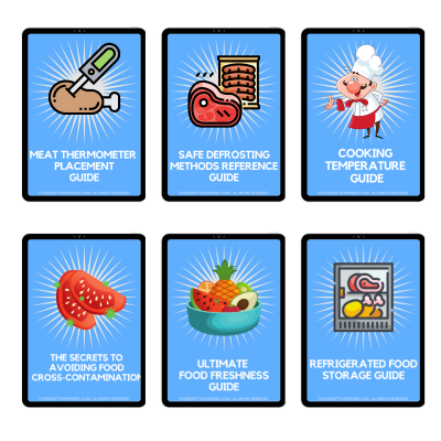 food safety superhero printable bundle pack