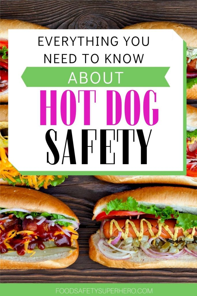 HOW CAN YOU TELL IF HOT DOGS HAVE GONE BAD